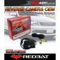 REDBAT RB-196 Plug & Play 170º Color CCD 3 Rear Camera: NISSAN SYLPHY