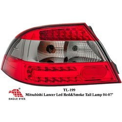MITSUBISHI LANCER 2000 - 2007 EAGLE EYES Red Smoke LED Tail Lamp [TL-199]
