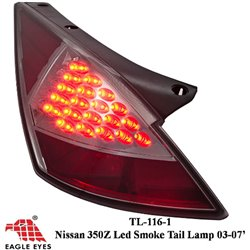 NISSAN FAIRLADY 350Z 2002 - 2009 EAGLE EYES Full Smoke LED Tail Lamp [TL-116-1]