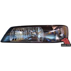 NISSAN CEFIRO A32 1994 - 1998 EAGLE EYES BLACK HOUSING Crystal Head Lamp [HL-041]