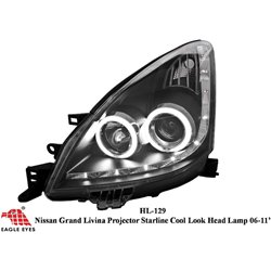NISSAN GRAND LIVINA 2006 - 2012 EAGLE EYES CCFL Starline LED Projector Head Lamp [HL-129]