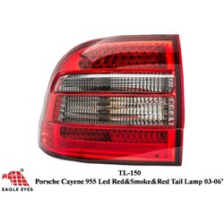 PORSCHE CAYENE 2003 - 2006 EAGLE EYES Red Smoke LED Tail Lamp [TL-150]