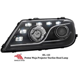 PROTON WAJA: EAGLE EYES Projector LED Daylight Head Lamp [HL-132]