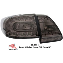 TOYOTA COROLLA ALTIS E150 2006 - 2013 EAGLE EYES Full Smoke LED Tail Lamp [TL-189-1]