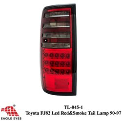 TOYOTA LAND CRUISER FJ82 1990 - 1994 EAGLE EYES Red Smoke LED Tail Lamp [TL-045-1]