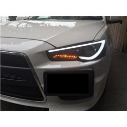MITSUBISHI LANCER GT/ EVO X 10/ PROTON INSPIRA 2007 - 2015 EAGLE EYES A-Concept Light Bar Projector Head Lamp