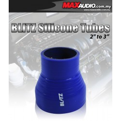"BLITZ 1.75"" To 3"" 3 Layer Racing Silicone Straight Reducer Tubes"