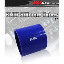 "BLITZ 2.75"" Inch 3 Layer Racing Silicone Straight Coupler Tubes"