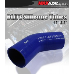 "BLITZ 45º Degree 2.5"" Inch 3 Layer Racing Elbow Silicone Tubes"