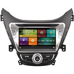 "HYUNDAI ELANTRA MD 2010 - 2014 DYNAVIN 8"" Double Din Android Mirror Link GPS DVD USB SD BT TV Player Rear Camera + TV Antenna"