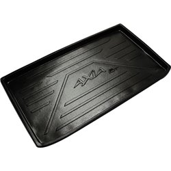 PERODUA AXIA: ORIGINAL ABS Rubber Anti Non Slip Rear Trunk Boot Cargo Tray Made in Malaysia (AL)