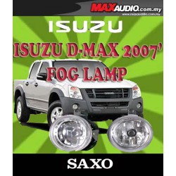 SAXO Fog Lamp Spot Light: ISUZU D-MAX 2007-2012 Made in Korea [IZ228]