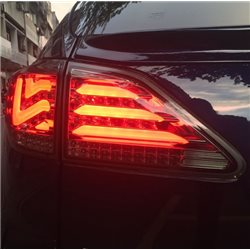 LEXUS RX270/ RX350/ RX450H 2009 - 2013 EAGLE EYES Full Smoke L-Concept LED Light Bar Tail Lamp [TL-248]