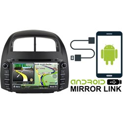 "PERODUA MYVI 2005 - 2010 DLAA 8"" Android Mirror Link Double Din GPS DVD MP3 CD USB SD BT TV Player Free Camera & TV Antenna"