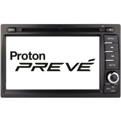 "PROTON PREVE/ SUPRIMA S DYNAVIN 7"" Full HD Double Din GPS DVD CD USB SD BLUETOOTH TV Player FREE Rear Camera + TV Antenna"