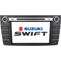 "SUZUKI SWIFT 2004 - 2012 DLAA 8"" Full HD Double Din GPS DVD CD USB SD BLUETOOTH TV Player FREE Rear Camera + TV Antenna"