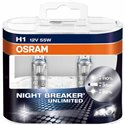 GENUINE OSRAM Night Breaker Unlimited +110% Super Bright Halogen Bulb Made In Germany