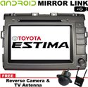 """TOYOTA ESTIMA ACR50 2006 - 2017 8"""" Android Mirror Link Double Din GPS DVD MP3 CD USB SD BT TV Player Free Camera & TV Antenna"""