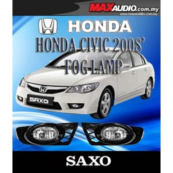SAXO Fog Lamp Spot Light: HONDA CIVIC FD 2008-2012 Made in Korea [HD046]