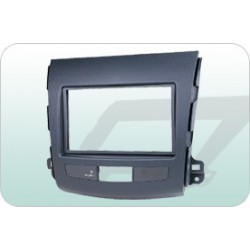 MITSUBISHI 2007-2009 OUTLANDER  Double Din Casing Panel [BN-25K2008]