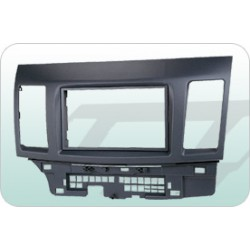 MITSUBISHI 2007-2009 FORTIS/LANCER  Double Din Casing Panel [BN-25K2009]