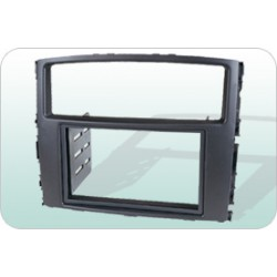 MITSUBISHI 2007-2009 PAJERO  Double Din Casing Panel [BN-25K2011]