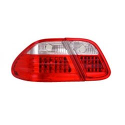 EAGLE EYES MERCEDES-BENZ CLK W208 '97 - '02 RED/CLEAR LED Tail Lamp [TL-022-BENZ-1]