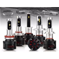 SAXO SK-460 6000K (JPJ Approve) H1 H4 H7 H8 H11 H16 HB3 (9005) HB4 (9006) Super White Laser Beam LED HID Conversion Kit