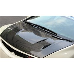 HONDA CIVIC FD/ FD2R 2006 - 2011 FEELS Style Super Light Weight Real Carbon Fiber Front Bonnet Hood [FD C006]
