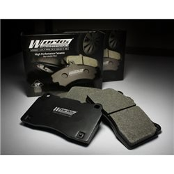 (MOST CARS) WORKS ENGINEERING USA 500ºC PRO-ULTRA STREET 5 High Performance Ceramic Bio-Soluble Fibre Racing Brake Pads
