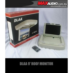"DLAA JL-986FD 9.2"" 800x480 Full HD Beige Roof Monitor with Dome Light"
