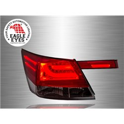 HONDA ACCORD 2008 - 2012 EAGLE EYES Red Clear F-Style LED Light Bar Tail Lamp [TL-177-5]