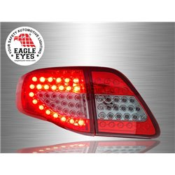 TOYOTA COROLLA E140 ALTIS 2008 - 2010 EAGLE EYES Red/ Smoke LED Tail Lamp [TL-158-2]