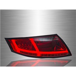 AUDI TT MK2 8J 2006 - 2013 Red Smoke LED Light Bar Tail Lamp [TL-274]