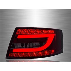 AUDI A6 2004 - 2011 EAGLE EYES Red/ Smoke LED Light Bar Tail Lamp [TL-266]