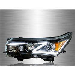 TOYOTA COROLLA ALTIS E170 2014 - 2017 Z-Concept LED Light Bar Projector Head Lamp [HL-205]