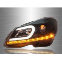 MERCEDES BENZ W204 C-CLASS 2012 - 2015 LED DRL Projector Head Lamp Light [HL-039-BENZ]