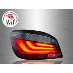 BMW E60 5-Series 2003 - 2010 EAGLE EYES Red Smoke LED Light Bar Tail Lamp [TL-035-BMW]