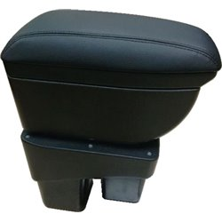 HONDA JAZZ/ FIT GK 2014 - 2017 Quality Genuine Cow Leather Black Arm Rest with Cup Holder