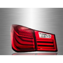 CHEVROLET CRUZE 2008 - 2016 Red Clear LED Light Bar Tail Lamp [TL-221]