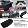 HONDA HRV/ VEZEL/ XRV 2014 - 2017 Black Rear Trunk Security Boot Cargo Tonneau Cover Shield with Center Opening