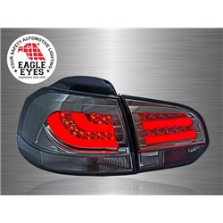 VOLKSWAGEN GOLF MK6 2008 - 2014 EAGLE EYES Smoke LED Light Bar Tail Lamp [TL-171-1]
