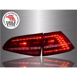 VOLKSWAGEN GOLF MK7 2013 - 2017 EAGLE EYES Red Smoke LED Tail Lamp [TL-249]