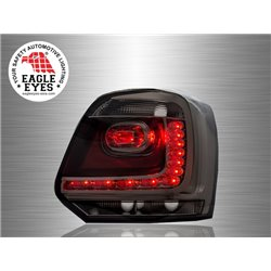 VOLKSWAGEN POLO MK5 2009 - 2017 EAGLE EYES Full Smoke LED Tail Lamp [TL-196-1]