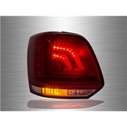 VOLKSWAGEN POLO MK5 2009 - 2017 Red Clear LED Tail Lamp [TL-226]