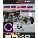 "SAXO 3"" Purple CCFL Glass Project Fog Lamp with Ballast Made in Korea"