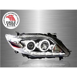 TOYOTA COROLLA ALTIS E140 2008 - 2010 EAGLE EYES CCFL Ring LED Starline Projector Head Lamp [HL-111-2]