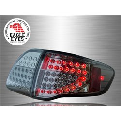 TOYOTA COROLLA ALTIS E140 2008 - 2010 EAGLE EYES Full Smoke LED Tail Lamp [TL-158-3]