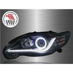 TOYOTA COROLLA ALTIS E150 2011 - 2013 EAGLE EYES CCFL Ring LED Light Bar Projector Head Lamp [HL-133-1]