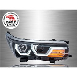 TOYOTA COROLLA ALTIS E170 2014 - 2017 EAGLE EYES LED 3D Light Plank Projector Head Lamp [HL-177]